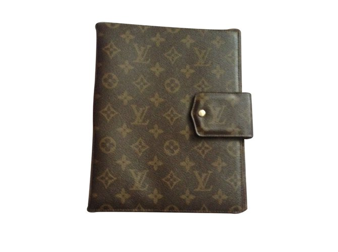 07306c19772 Louis Vuitton Wallets Small accessories Wallets Small accessories Leather  Brown ref.9626