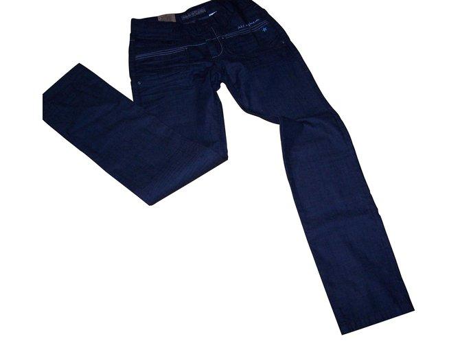 Pantalons fille Ikks Pantalons fille Jean Noir ref.9808