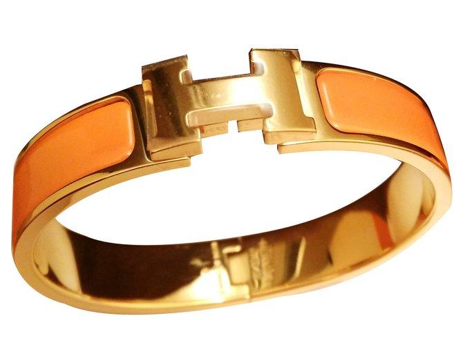 e8773371ec2 Hermès Bracelets Bracelets Ceramic Orange ref.10318 - Joli Closet