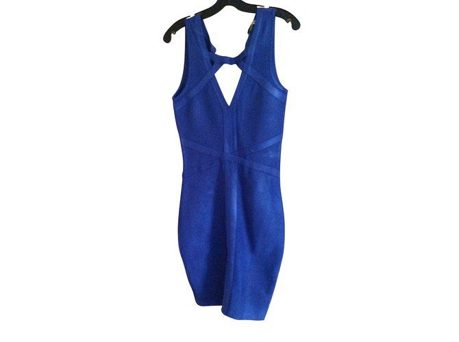 Robe guess bleu turquoise