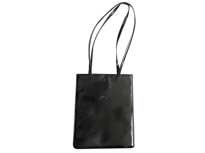 Longchamp Handbags Leather Black Ref 10469