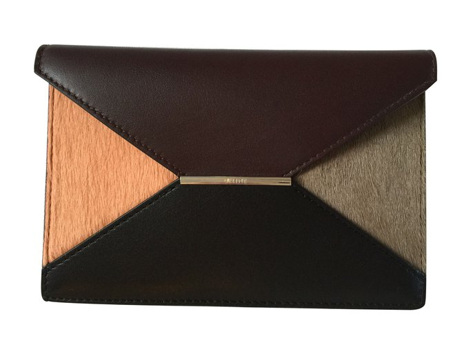 Céline Purses, wallets, cases Purses, wallets, cases Leather Multiple colors ref.10561