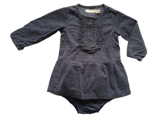 Robes fille Stella Mc Cartney Robes fille Coton Bleu ref.10686