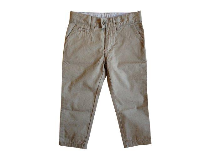 Petit Bateau Pants Pants Cotton Grey ref.10694