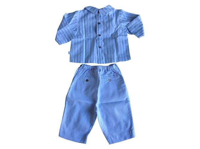 Jacadi Outfits Outfits Cotton Blue ref.10713