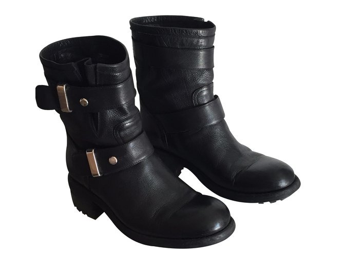 Cheap Price Outlet Wholesale Price Sale Online Free Lance Leather Strap Boots bje6P