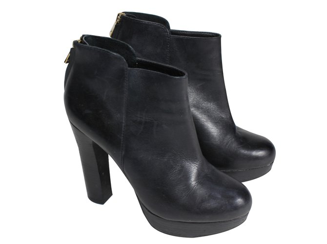 Aldo Ankle Boots Ankle Boots Leather