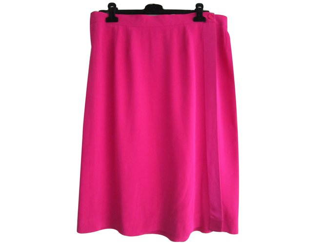 Yves Saint Laurent Skirts Skirts Other Pink ref.11378