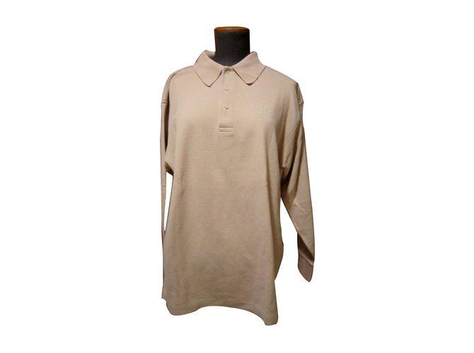 Polos Burberry Polo Coton Beige ref.11497 - Joli Closet fb7f1c114e4