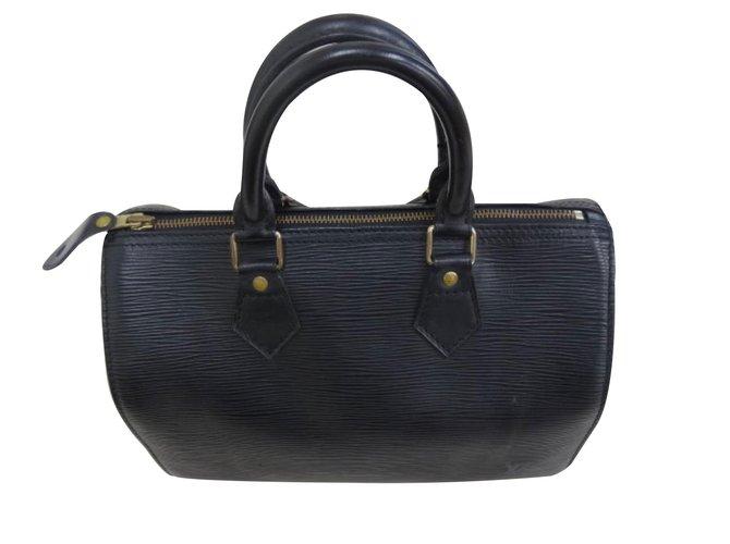 6370d05758b5 Louis Vuitton Handbags Handbags Patent leather Black ref.11657 ...