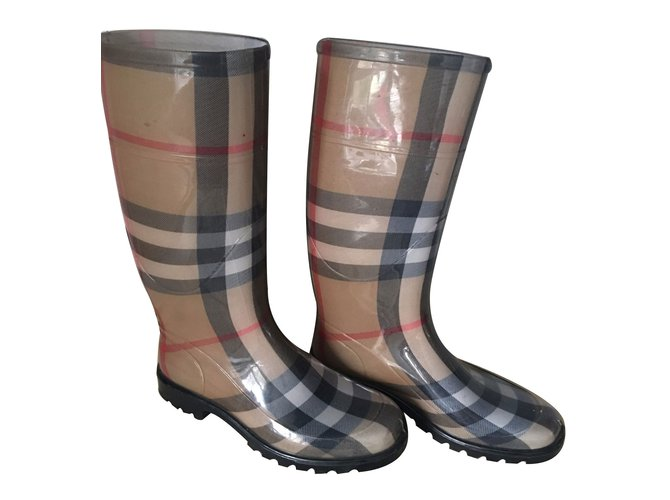 Burberry Boots Boots Rubber Other ref.12051