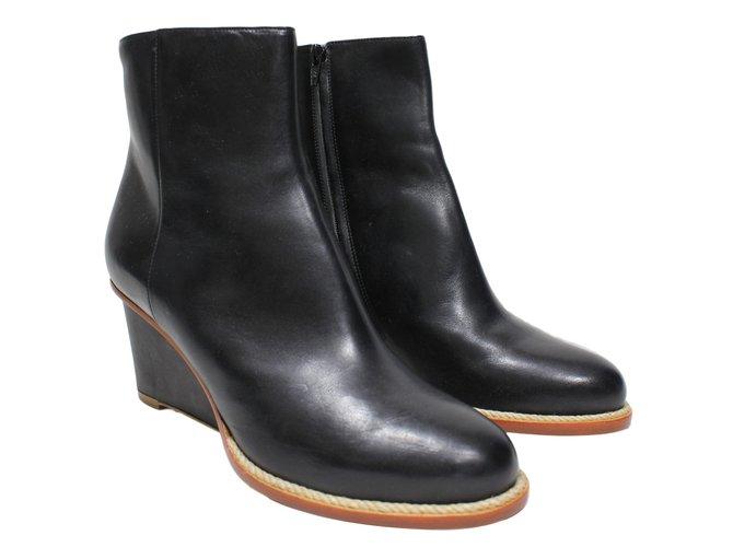 Vente Sneakernews Acheter Pas Cher 2018 Maison Martin Margiela Boots En Cuir Magasin De Sortie Rabais La Qualité D'expédition Bas Prix Gratuit 1LmX7ES