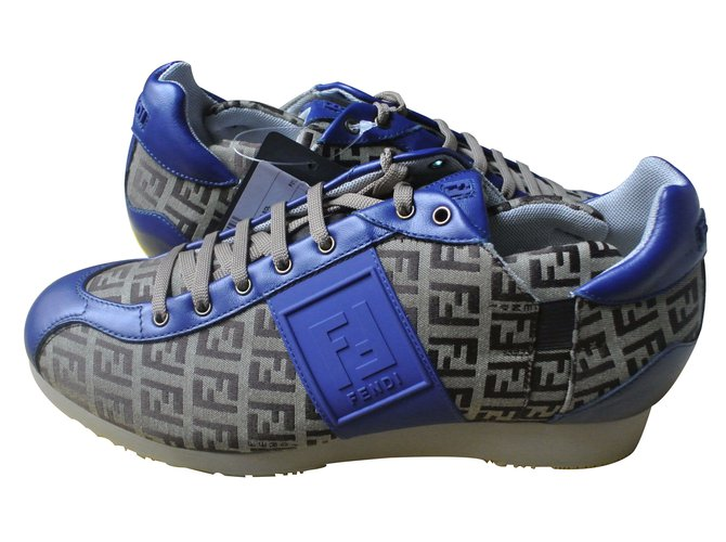 Fendi Sneakers Sneakers Cloth Multiple colors ref.12084 - Joli Closet 34d354b9eb1
