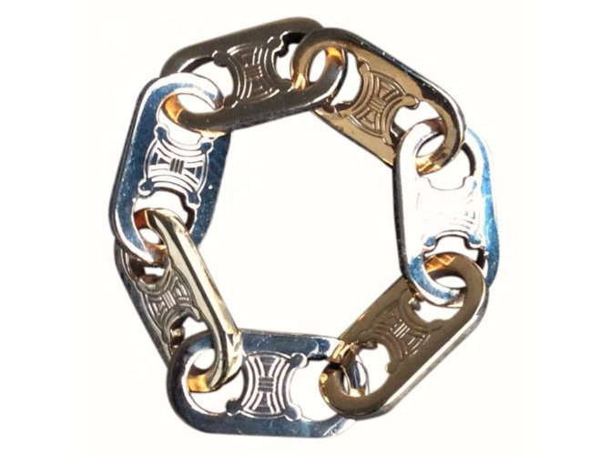Bracelets Céline CHUNKY BRACELET Métal Doré ref.12457