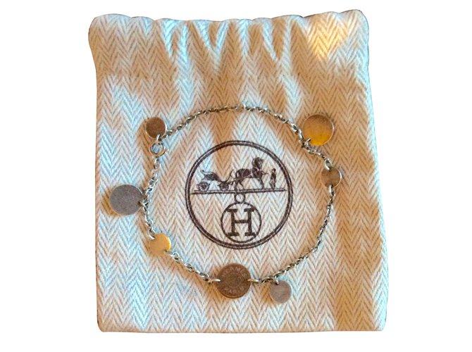 1a9d8f09c5b Bracelets Hermès Confettis Argent Argenté ref.12656 - Joli Closet
