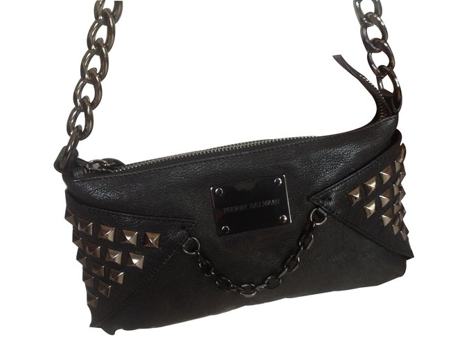 6421279c24 Pierre Balmain Handbags Handbags Leather Black ref.12766 - Joli Closet