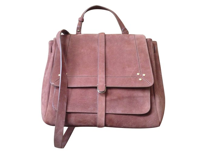 Jerome Dreyfuss Handbags Leather Caramel Ref 12980