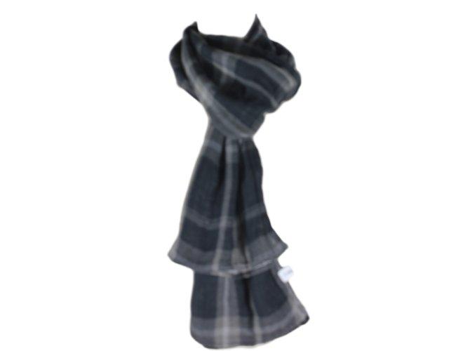 Foulards Calvin Klein Echarpe double face Autre Noir,Gris ref.13217 ... 93f091a5805