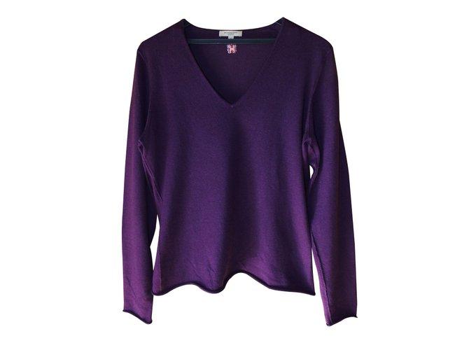 Burberry Knitwear Knitwear Silk Purple ref.13619