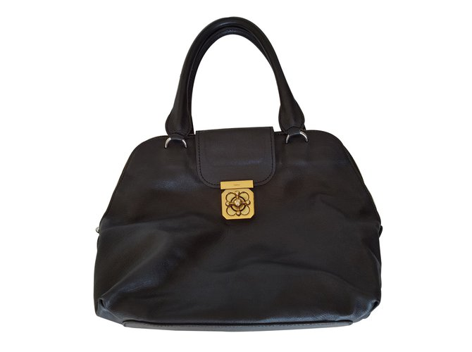 Chloé Handbags Handbags Leather Black ref.13636