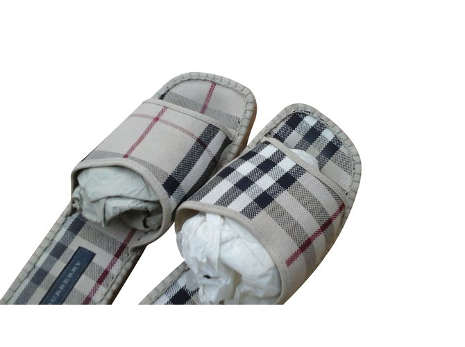 Burberry Mules Mules Cotton Other ref.13659