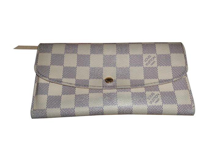 Petite maroquinerie Louis Vuitton Emilie Toile Bleu ref.13757 - Joli ... b9d1da67770