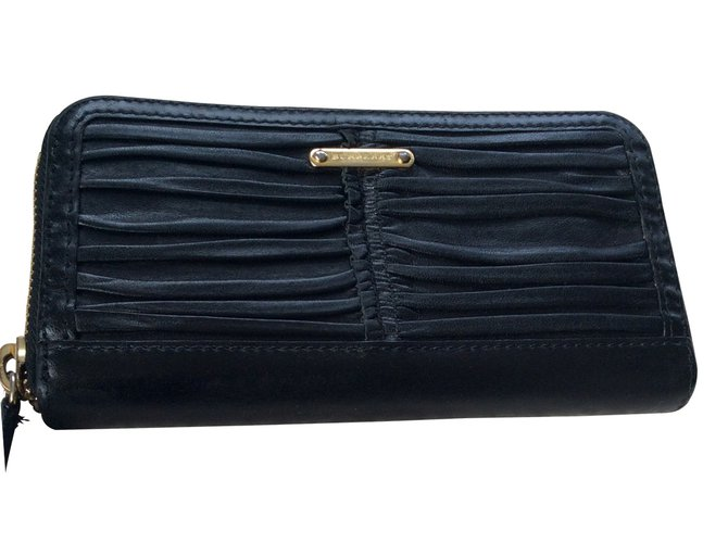 Burberry Wallets Wallets Leather Black ref.13817
