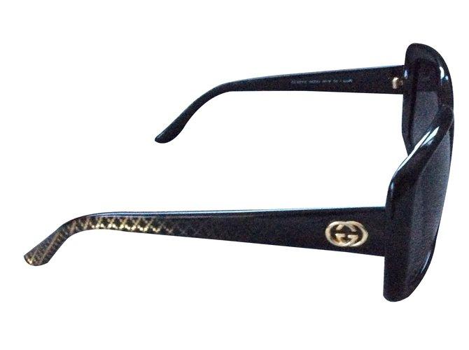 274ac12c81 Gucci Sunglasses Sunglasses Plastic Black ref.13820 - Joli Closet