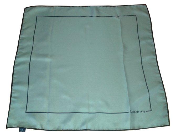 Burberry Scarves Scarves Silk White ref.14158