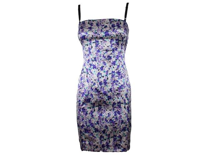 003e2fc5 Dolce & Gabbana Dresses Dresses Silk Purple ref.14512 - Joli Closet