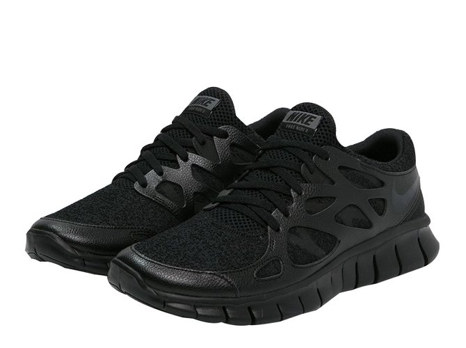the latest 9675c 37907 Nike Sneakers Sneakers Rubber Black ref.14745
