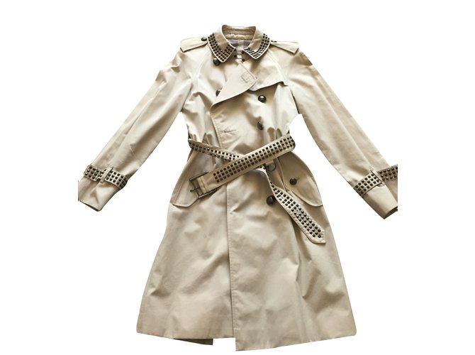 Burberry Trench coats Trench coats Cotton Beige ref.14920