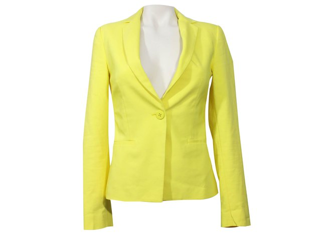 Veste jaune femme zara
