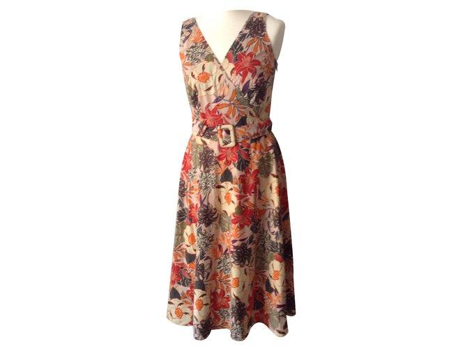 Burberry Dresses Dresses Cotton Multiple colors ref.15311