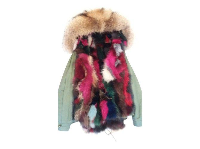 cei mai buni adidași stiluri proaspete produs nou Vestes Mr and Mrs Furs Vestes Fourrure Multicolore ref.15340 ...