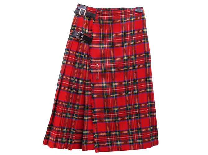 Burberry Skirts Skirts Wool Multiple colors ref.15363