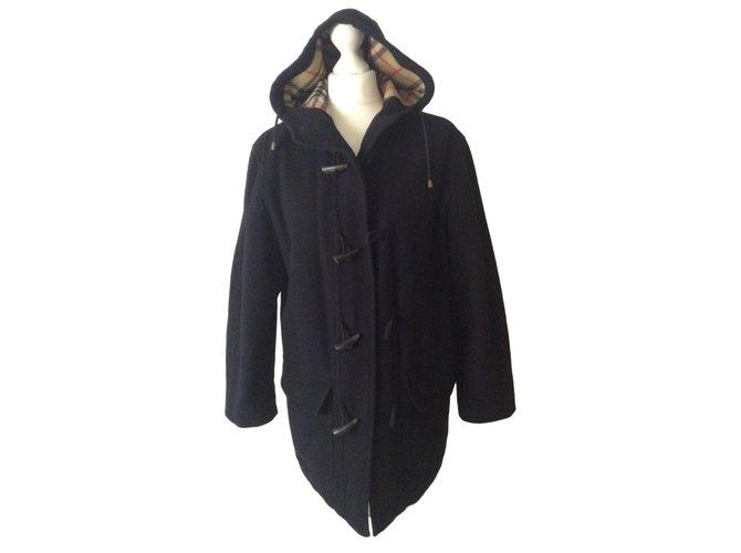 Burberry Jackets Jackets Wool Blue ref.14814