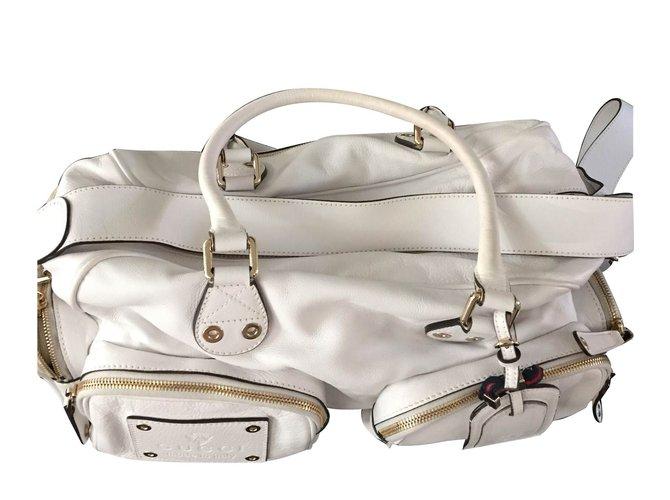 Gucci Handbags Handbags Leather White ref.15522 - Joli Closet 6b8a7d1fa4836
