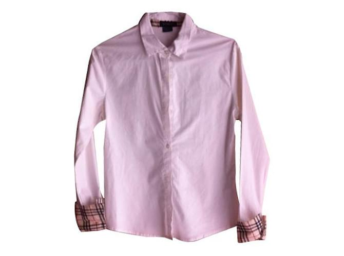 Burberry Tops Tops Cotton White ref.15525