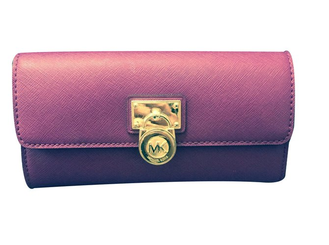 903698a14799 Michael Kors Wallets Wallets Leather Purple ref.15630 - Joli Closet