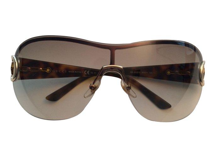 ca9cbcd8e3e Gucci Sunglasses Sunglasses Other Brown ref.15658 - Joli Closet