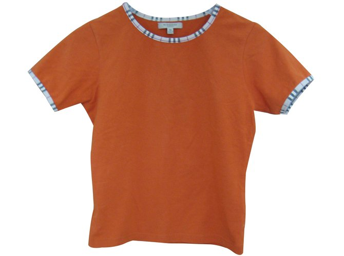 Burberry Tops Tops Cotton Orange ref.15778
