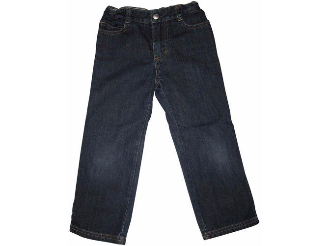 Petit Bateau Pants Pants Denim Blue ref.15800