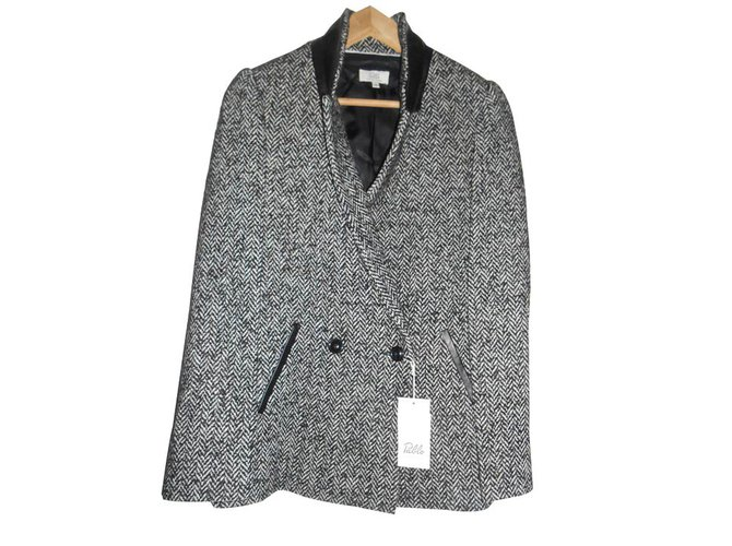 6da848b65091 Pablo De Gerard Darel Jackets Jackets Wool Grey ref.15843 - Joli Closet
