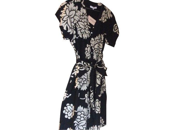 Robes Ref Robe Gerard 16057 Noir Darel Closet Coton Joli AnAOqapU