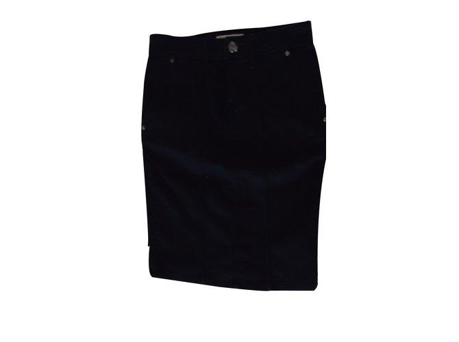 Burberry Skirts Skirts Cotton Blue ref.16106