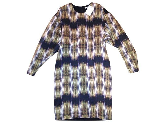 Céline Dresses Dresses Silk Multiple colors ref.16216