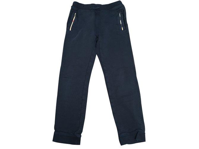 Burberry Jogging Pants, leggings Cotton Blue ref.16325