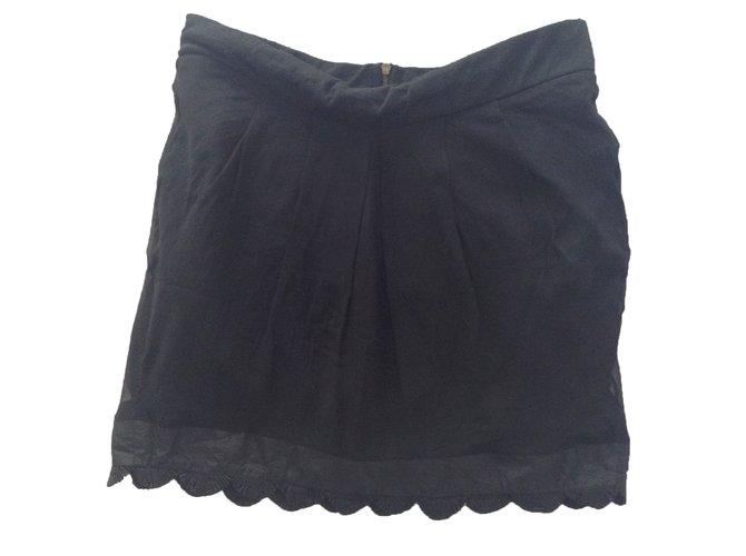 Chloé Skirt Skirts Polyester Black ref.16563