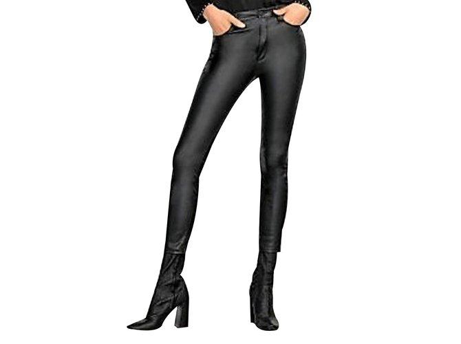zara pantalon femme imitation cuir